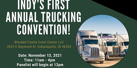 Indy's first annual trucking convention tickets