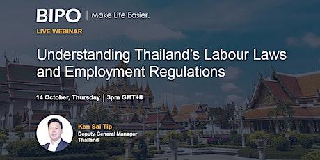 Understanding Thailand's Labour Laws and Employment Regulations tickets
