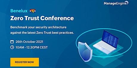 ManageEngine Zero Trust conference | Benelux tickets