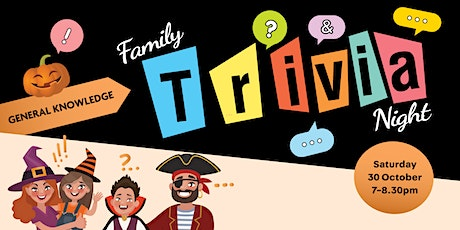 ONLINE: Family Trivia Night - General Knowledge tickets
