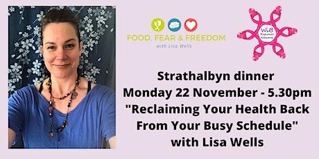 Strathalbyn dinner - Women in Business Regional Network -  Mon 22/11/2021 tickets