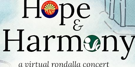 Hope & Harmony tickets