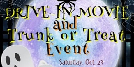 Halloween Drive In Movie and Trunk or Treat Night at Billian Park tickets