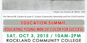 8th Annual Education Summit - Educating Young Men of...