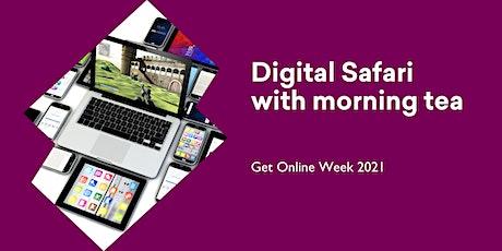 POSTPONED Digital Safari morning tea - Get Online Week @ Huonville Library tickets