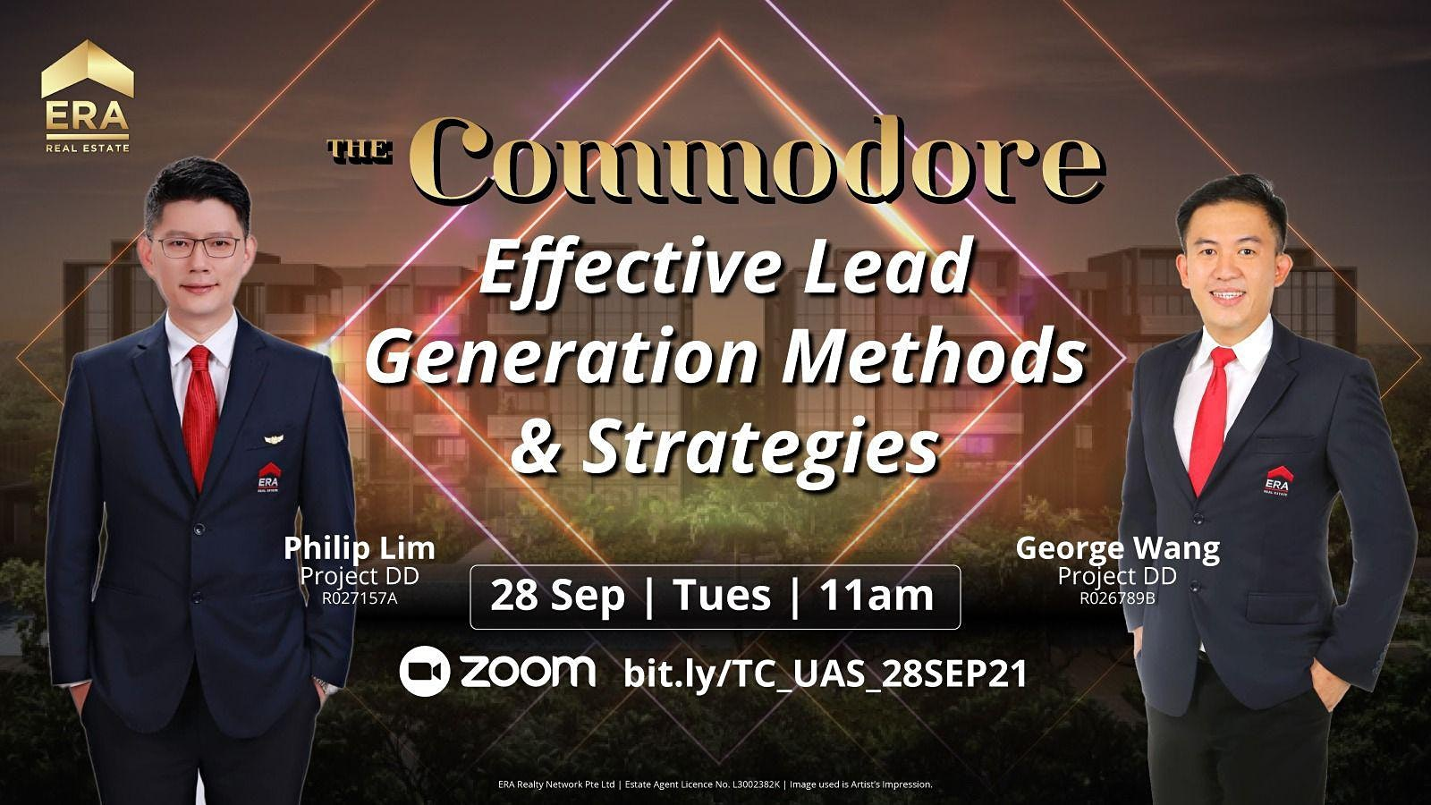 Effective Lead Generation Methods and Strategies (The Commodore)