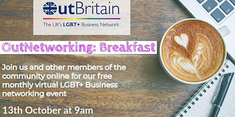 OutNetworking - LBGT+ Business Networking Breakfast tickets