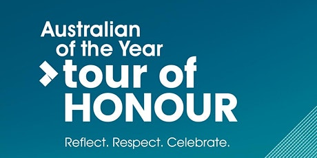 Australian of the Year Tour of Honour 2021 tickets