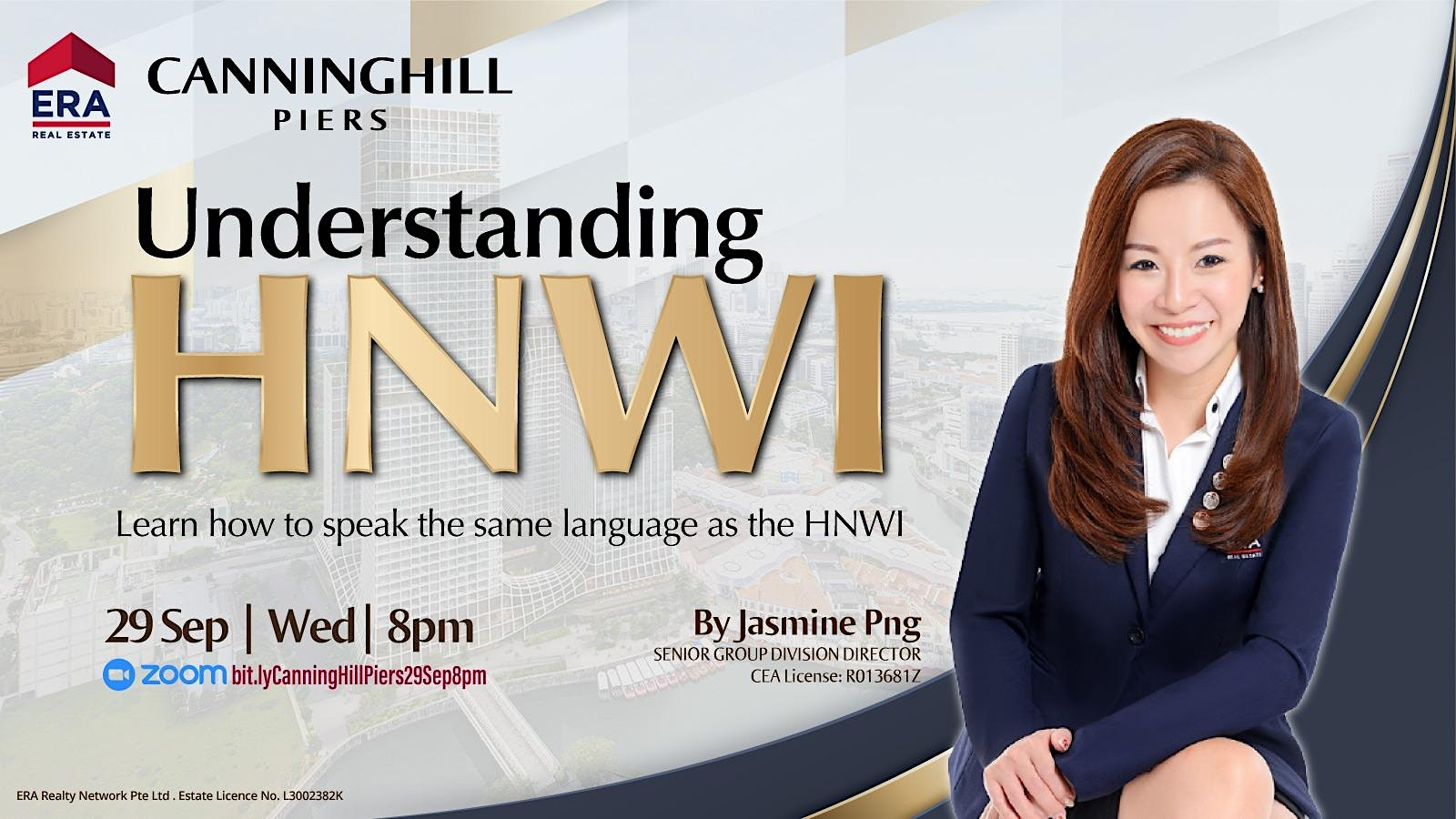 Learn how to speak the same language as the HNWI (Canninghill Piers)