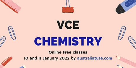 VCE Chemistry, (Online for Year11 and Year12) tickets