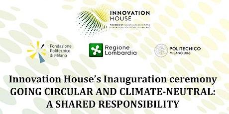 Inaugurazione Innovation House   Expo 2020 Dubai tickets