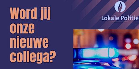 Infosessie Politie Blankenberge / Zuienkerke tickets