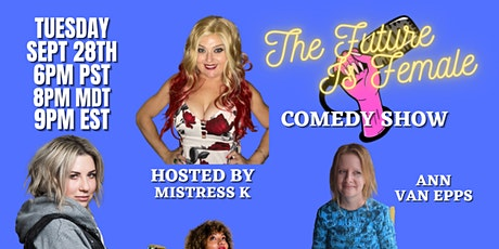 FIF Virtual ZOOM Comedy Show Sept 28th 6pm PST/ 9pm EST tickets