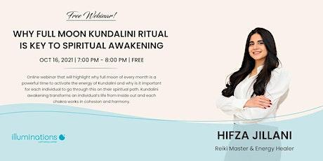 Free Webinar! Why Full Moon Kundalini Ritual Is Key To Spiritual Awakening tickets