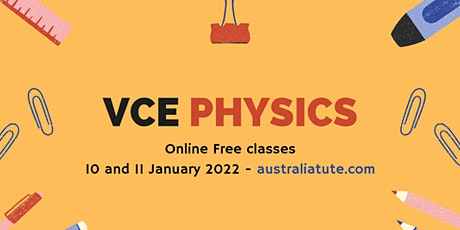 VCE Physics (Online Seminars for Year 11 and Year 12) tickets