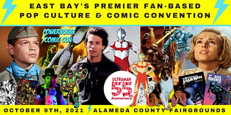 Powerhouse Comic Con 2021 tickets