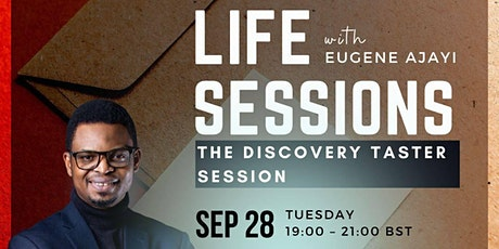 The Discovery Taster  Session with Eugene Ajayi tickets