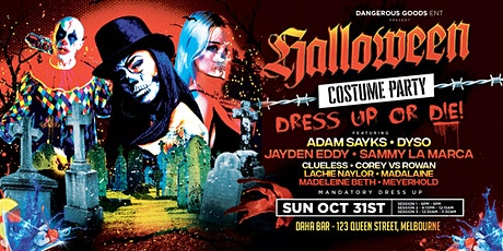 Dangerous Goods Day Party - October 31st (HALLOWEEN SPECIAL) tickets