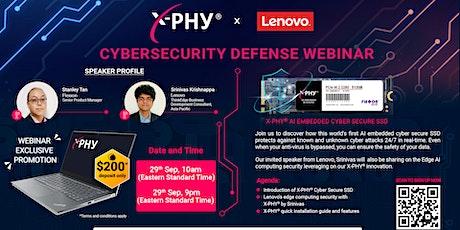 Cybersecurity Defense Webinar tickets