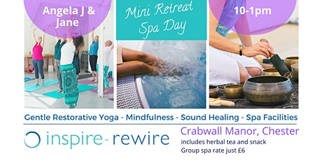 Mini Retreat/Spa Day tickets