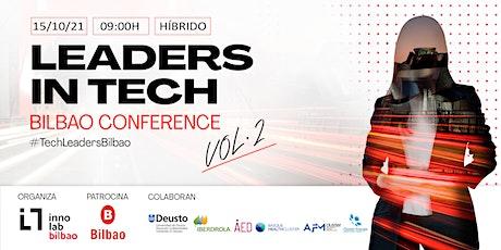 Leaders In Tech - Bilbao Conference VOL.2 entradas