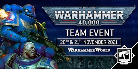 Warhammer 40,000 Team Event tickets