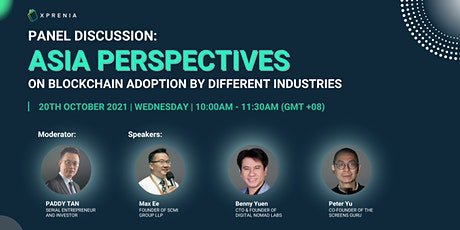 Asia Perspectives on Blockchain Adoption by Different Industries tickets