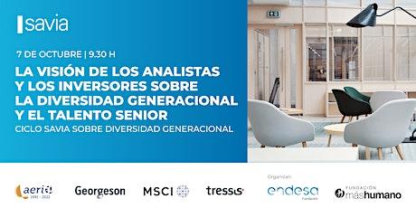 La visión de los analistas e inversores sobre la diversidad generacional boletos