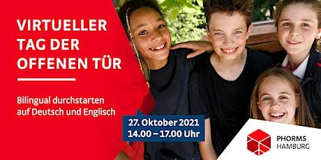 Virtueller Tag der offenen Tür – Phorms Campus Hamburg Tickets