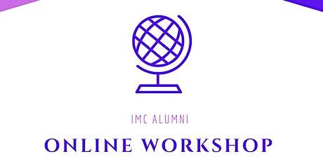 IMC Alumni - Online workshop Netwerken tickets