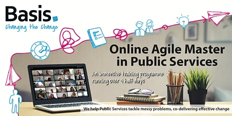 Online Agile Master In Public Services tickets