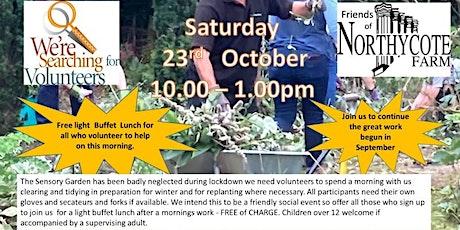 Sensory Garden Volunteer Morning Two tickets