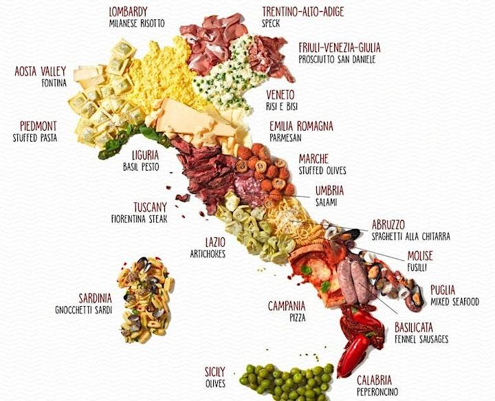 Italian Food: an object of desire image