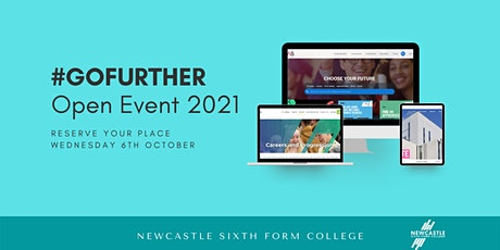 #GOFURTHER - Newcastle Sixth Form College October Open Event 2021 tickets