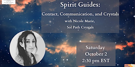 Spirit Guides with Solpath Crystals tickets