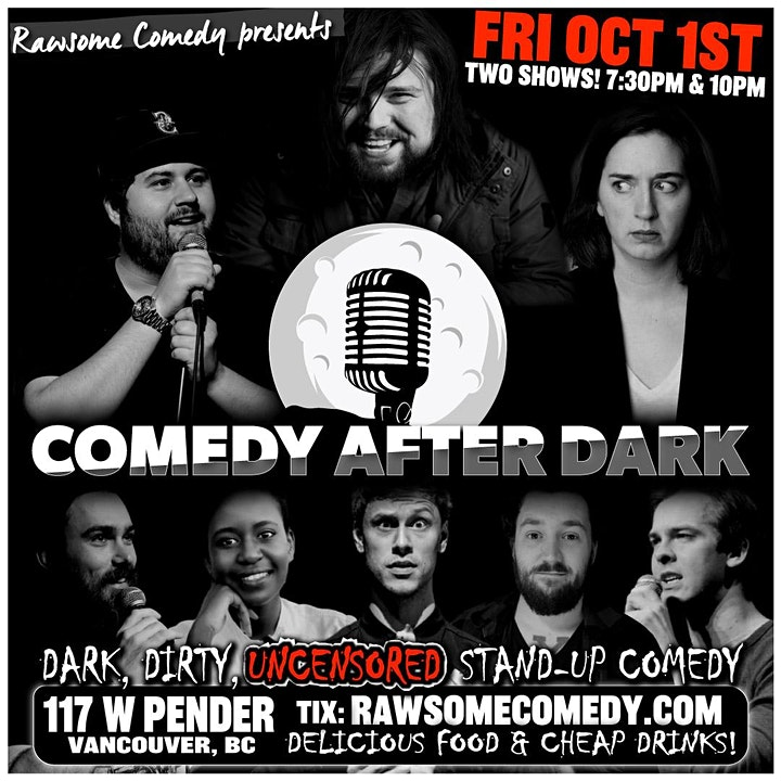 Comedy After Dark | Live Stand-up Comedy! image