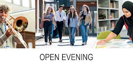 Sixth Form Open Evening, Headteachers Address - 7pm tickets
