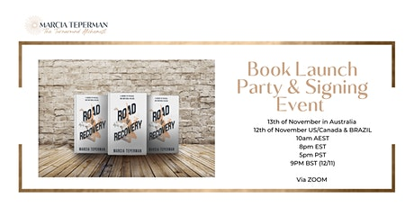 Road to Recovery Book Launch & Signing Event tickets