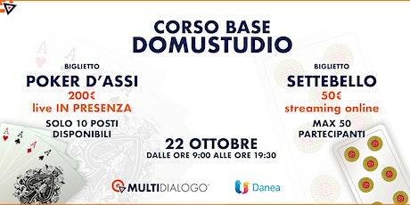 CORSO BASE SOFTWARE DOMUSTUDIO biglietti