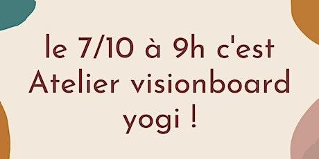 RENNES CENTRE - Atelier visionboard  yogi ! billets