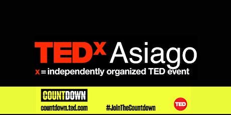 TEDxAsiago Countdown biglietti