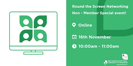 Round the Screen Networking - Non-Member Special event! tickets