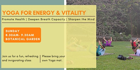 Yoga for Vitality And Energy tickets