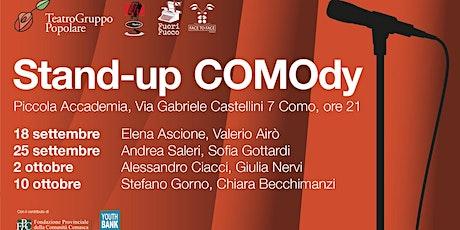 Stand-up COMOdy con Stefano Gorno e Chiara Becchimanzi biglietti