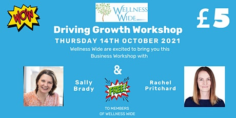 Driving Growth Workshop tickets