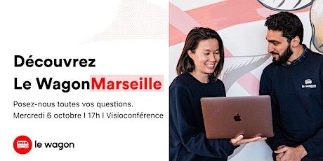 Session d'information Le Wagon Marseille l Développement Web billets