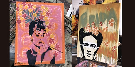 Audrey or Frida Paint and Sip Brisbane 6.11.21 tickets