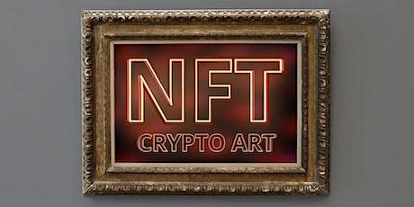 How to create NFT art on the Tezos blockchain. tickets