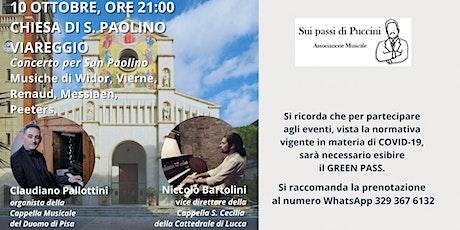 Concerto  d'Organo per San Paolino biglietti