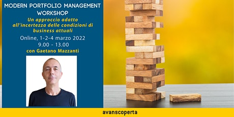 Modern Portfolio Management Workshop biglietti